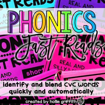 Phonics Fast Reads: Short Vowels
