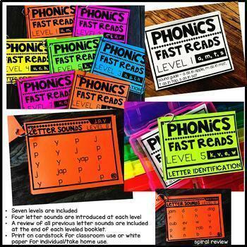 Phonics Fast Reads {THE BUNDLE}