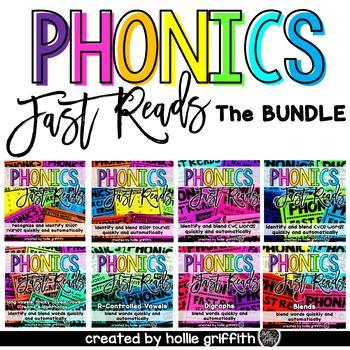 Phonics Fast Reads {THE BUNDLE}