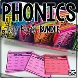 Decoding Fluency Drills THE BUNDLE | Phonics Fast Reads |