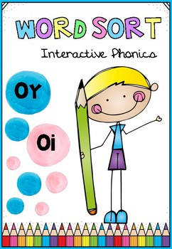 Phonics File Folder Oi and Oy