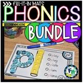 Phonics Fill-It-In Activity Mats BUNDLE