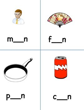 Phonics: Fill in the missing sound