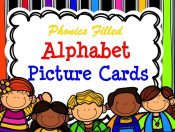 Phonics Filled Alphabet Picture Cards