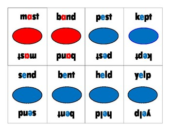 Flash Phonics Final Blend O.G. Game Barton Reading and Spelling