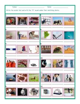 Phonics Final Consonant Cluster FT Photo Worksheet