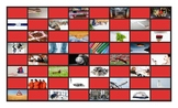 Phonics Final Consonant Clusters ct-ft-lt-nt-pt Photo Checkerboard Game