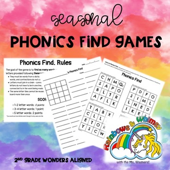 Phonics Find Fun - For Seasons