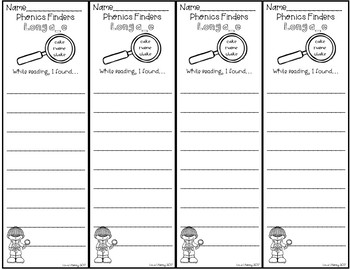 Phonics Finder Bookmarks: A Growing Bundle