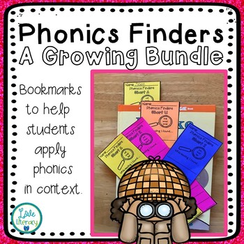 Phonics Finder Bookmarks Bundle