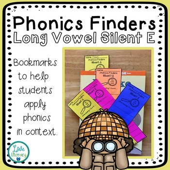 Phonics Finder Bookmarks: Long Vowel Silent E
