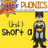 Phonics First Grade Digital Curriculum Unit 1 on Short a