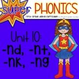 Phonics First Grade Digital Curriculum Unit 10 on ending n blends