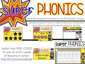 Phonics First Grade Digital Curriculum Unit 21 on OA, OW and OE