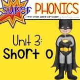 Phonics First Grade Digital Curriculum Unit 3 on Short o