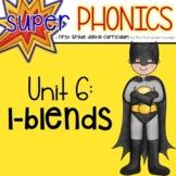 Phonics First Grade Digital Curriculum Unit 6 on l blends
