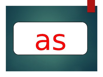 Phonics First Layer 2 Red Words Powerpoint