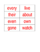 Phonics First Layer Two Red Words