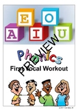 Phonics First Vocal Workout PREVIEW