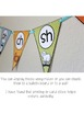 Phonics Flags- blends, digraphs, diphthongs and more! {teal and orange}