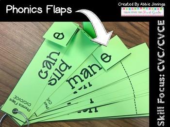 Phonics Flaps- CVC CVCE- Magic e