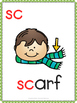 Phonics Flash Cards Blends and Digraphs