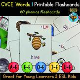 CVCe Flash Cards