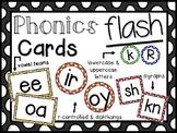 Phonics Flash Cards- Letters, Digraphs, Blends, Vowel Teams