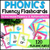 Phonics Flashcards  {Bright Polka Dot Theme}