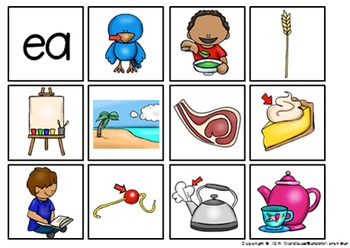 Phonics Flash Cards Vowel Sounds {AUS/U.K. Version}