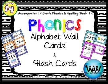 Phonics Flash Cards (Week 14)