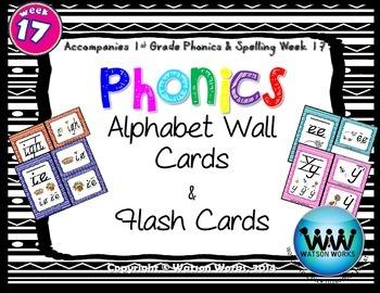 Phonics Flash Cards (Week 17)