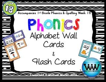 Phonics Flash Cards (Week 18)