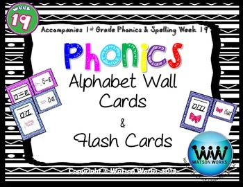 Phonics Flash Cards (Week 19)