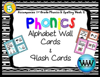 Phonics Flash Cards (Week 5)