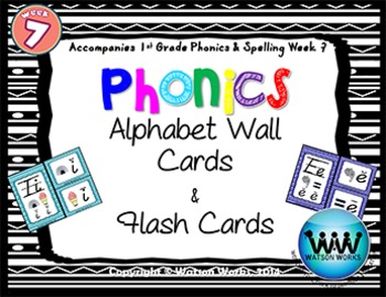 Phonics Flash Cards (Week 7)