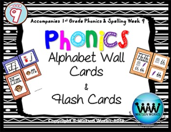 Phonics Flash Cards (Week 9)