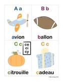 Phonics Flashcards (French)
