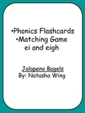 Phonics Flashcards •Matching Game ei and eigh Jalapeno Bagels By: Natasha Wing