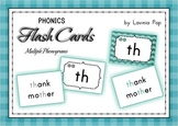 Phonics Flashcards - Multiple Phonograms Identification {FREE}