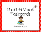 Phonics Flashcards : Short A words