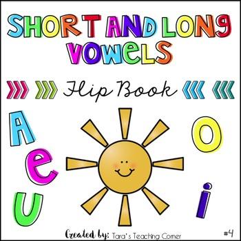 Phonics Flip Book #4: Short and Long Vowels