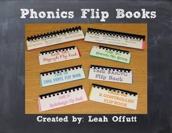 Phonics Flip Book Bundle