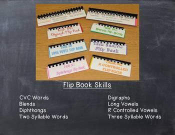 Phonics Flip Book Bundle