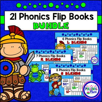 Phonics Flip Book Bundle - Beginning Blends