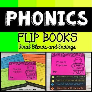 Final blends and endings | Phonics Flip Book