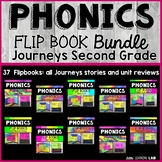 Journeys 2nd Grade Phonics Flip Book Growing Bundle