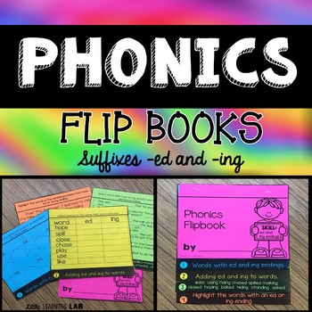 Suffixes ed and ing    Journeys How Chipmunk Got His Stripes Flip Book