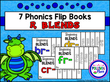 Phonics Flip Books - Beginning R Blends