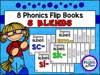 Phonics Flip Books - Beginning S Blends